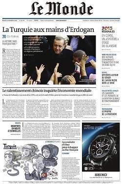 Le Monde et 2 Suppléments du Mardi 3 Novembre 2015