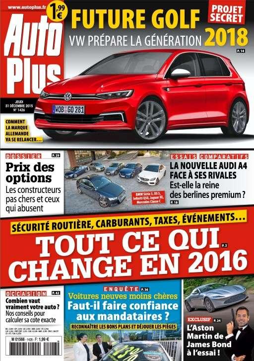 Auto Plus 1426 - 31 Décembre 2015 au 7 Janvier 2016