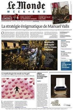 Le Monde Weekend et 4 Suppléments du Samedi 14 Novembre 2015