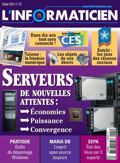 L'Informaticien 121 - Serveurs : de nouvelles attentes