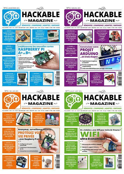 Hackable magazine collection 2015