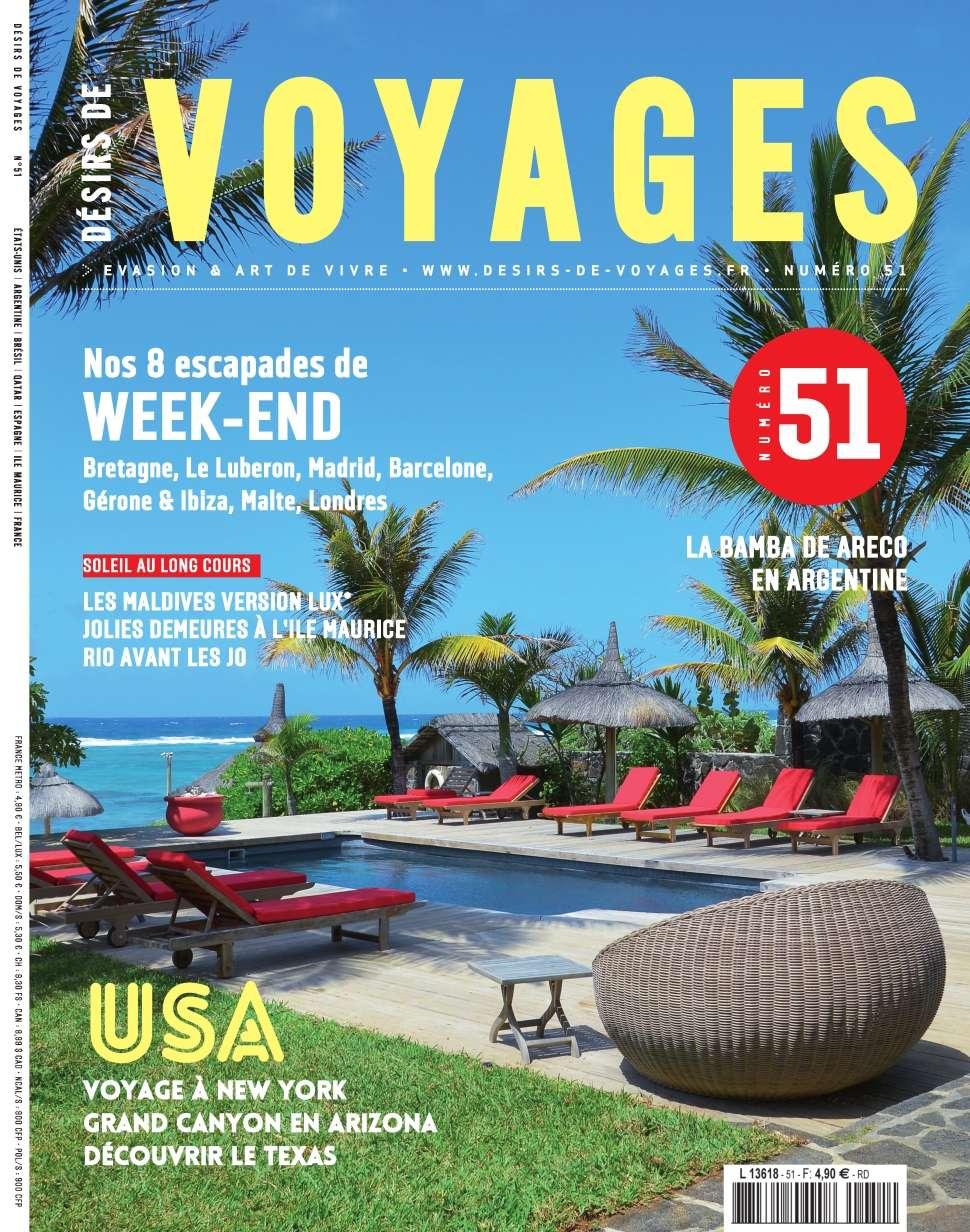 Désirs de Voyages 51 - Octobre-Novembre 2015