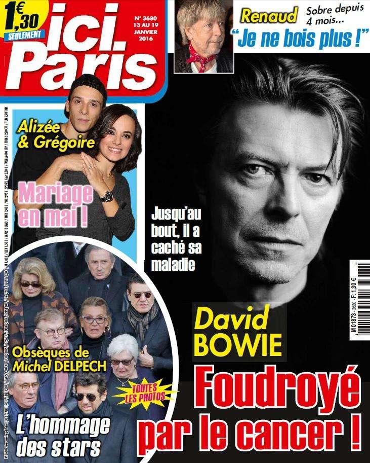 Ici Paris 3680 - 13 au 19 Janvier 2016