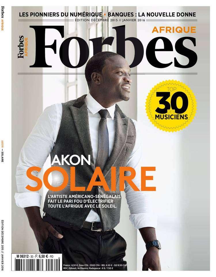 Forbes Afrique - Décembre 2015 - Janvier 2016