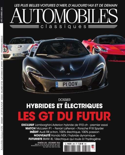 Automobiles Classiques 256 - Décembre 2015