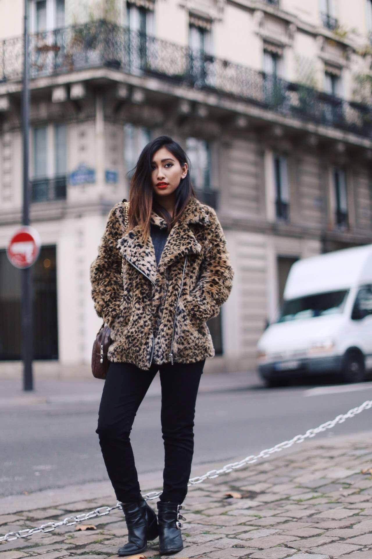 manteau femme tendance style perfecto