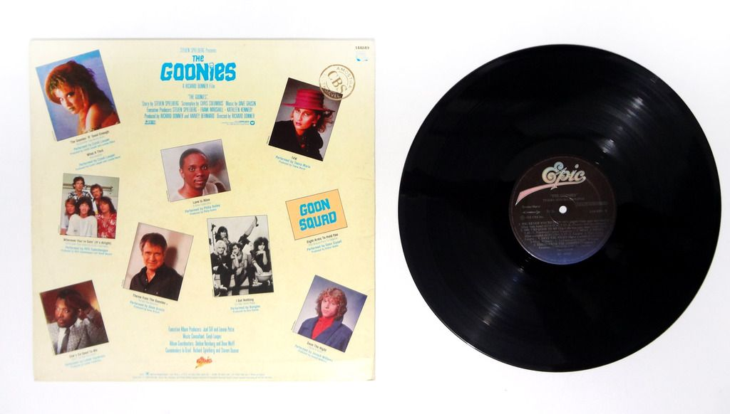 Goonies soundtrack vinyl LP