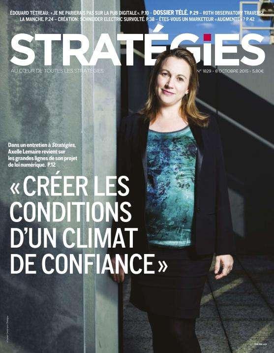 Stratégies - 8 Octobre 2015