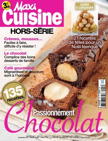 Maxi Cuisine Hors Série - Novembre/Décembre 2015