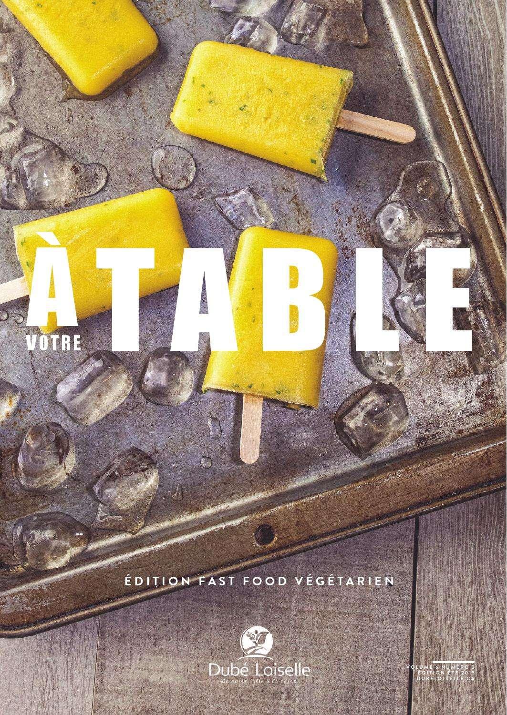 A Votre Table – Eté 2015