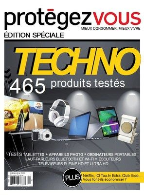Protegez vous – Decembre 2015 : special techno