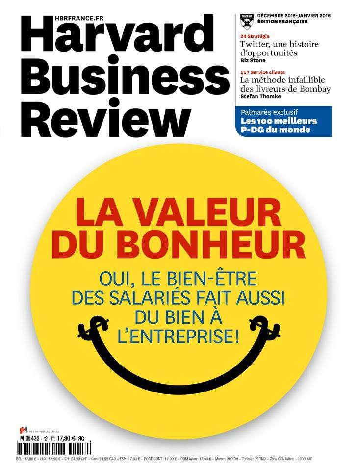 Harvard Business Review France 12 - Décembre 2015 - Janvier 2016