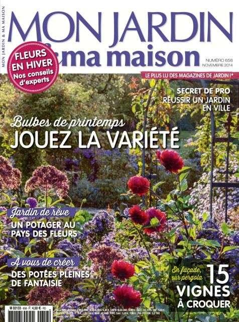 Mon Jardin & Ma Maison 658 - Novembre 2014