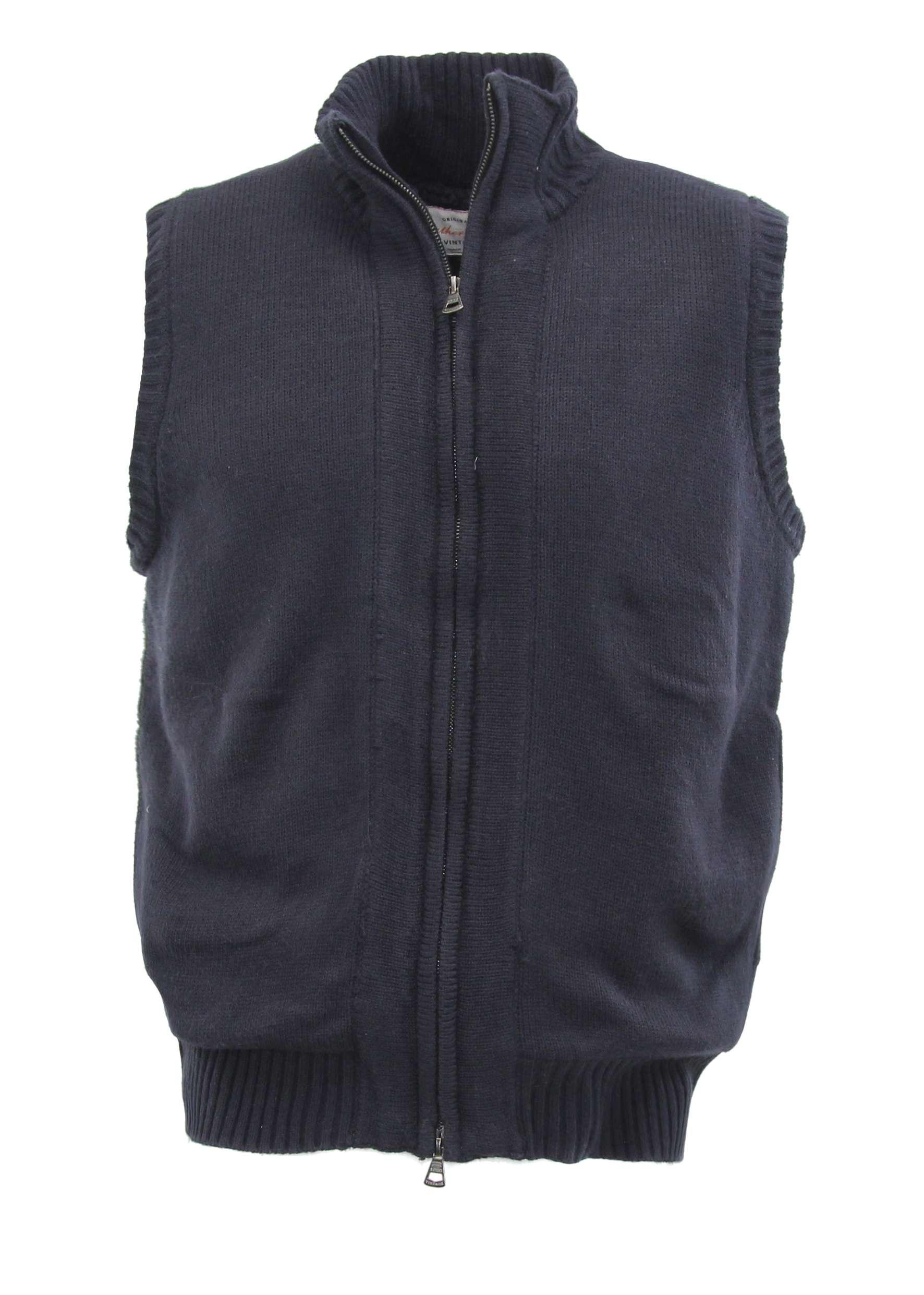 Weatherproof vintage men 39 s fleece lined sweater vest ebay for Weatherproof vintage men s lightweight flannel shirt