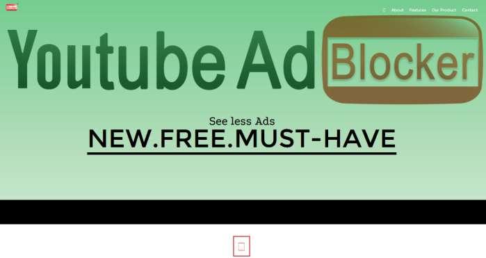 Usuń YoutubeAdBluockee