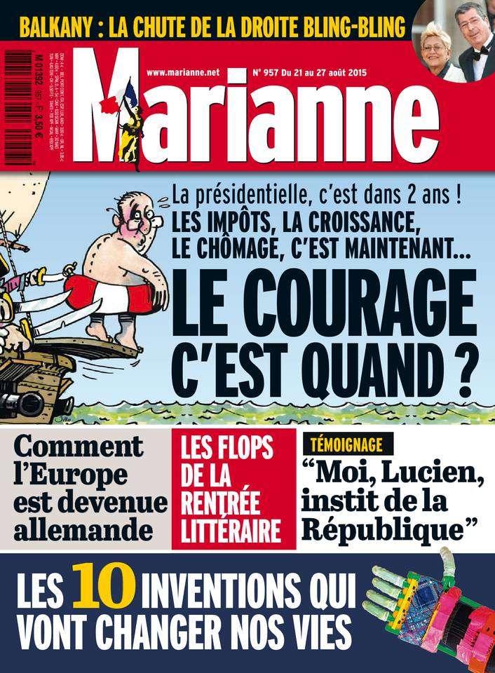 Marianne 957 - 21 au 27 Août 2015