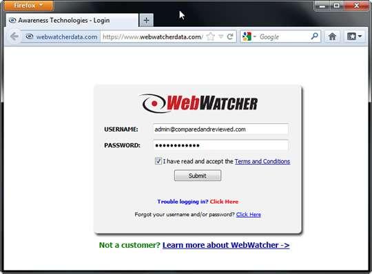 Remove WebWatcher