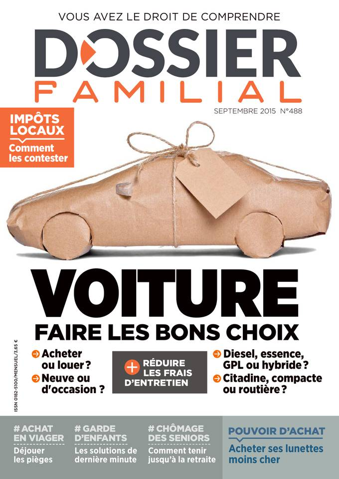 Dossier Familial 488 - Septembre 2015