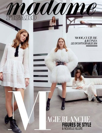 Madame Figaro - 30 Décembre 2015