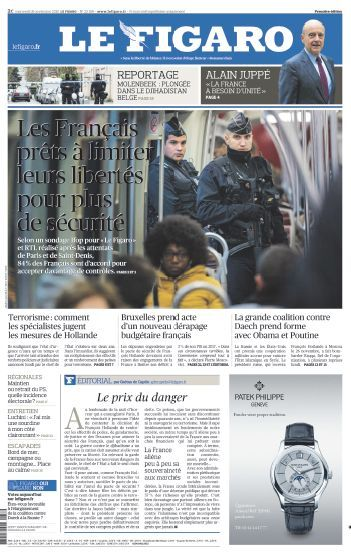 Le Figaro Du mercredi 18 Novembre 2015