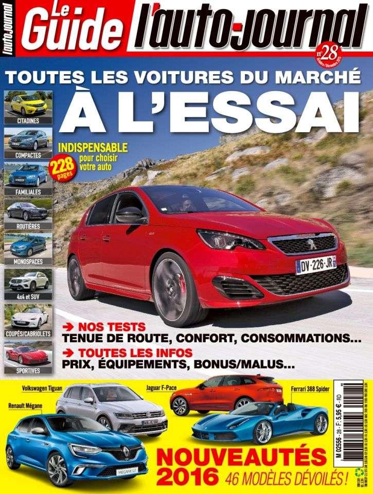 Le Guide de L'Auto-Journal 28 - Octobre-Décembre 2015