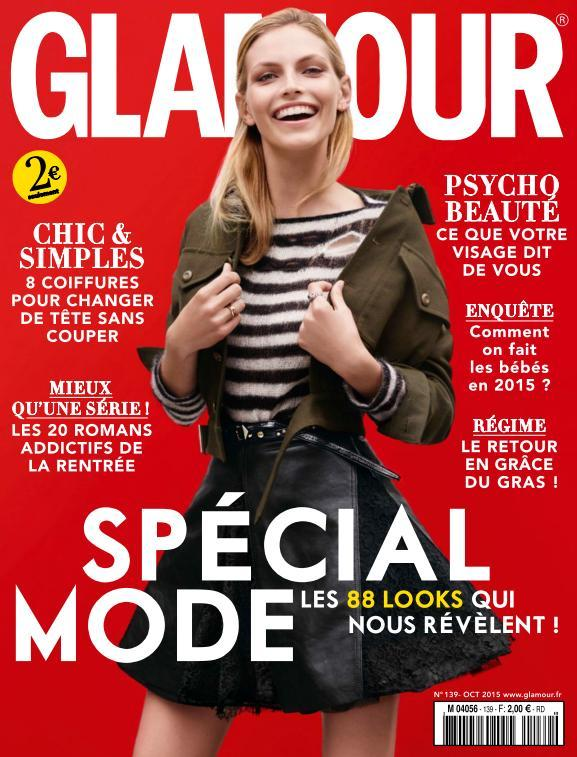 Glamour France - Octobre 2015