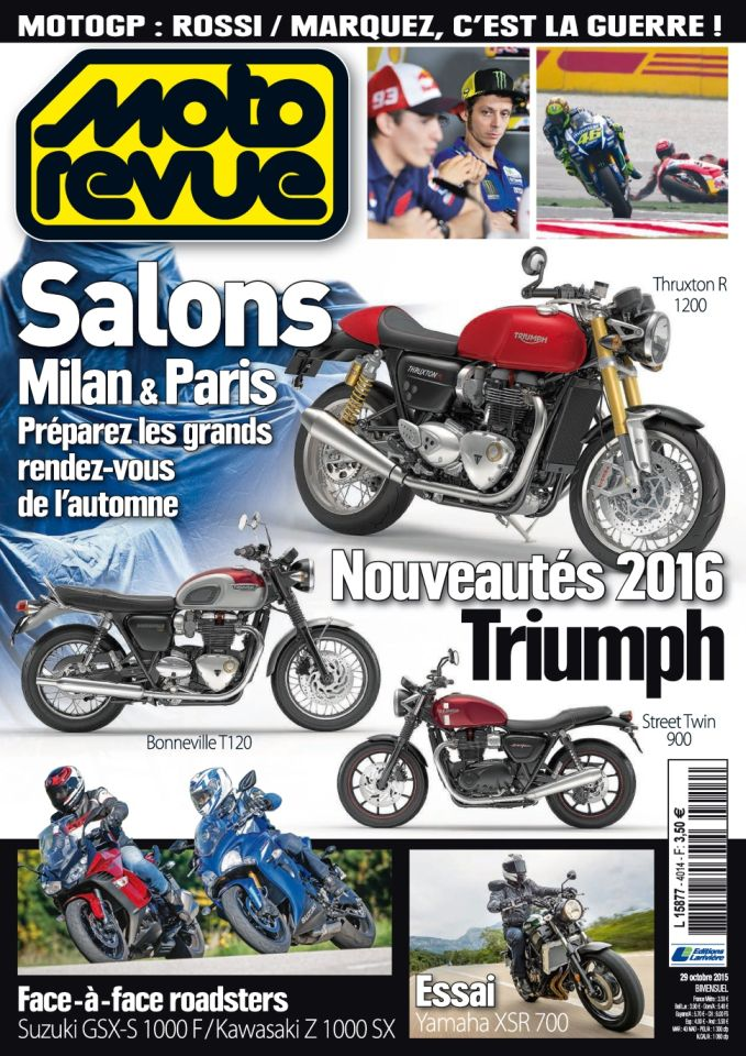 Moto Revue 4014 - 29 Octobre au 11 Novembre 2015