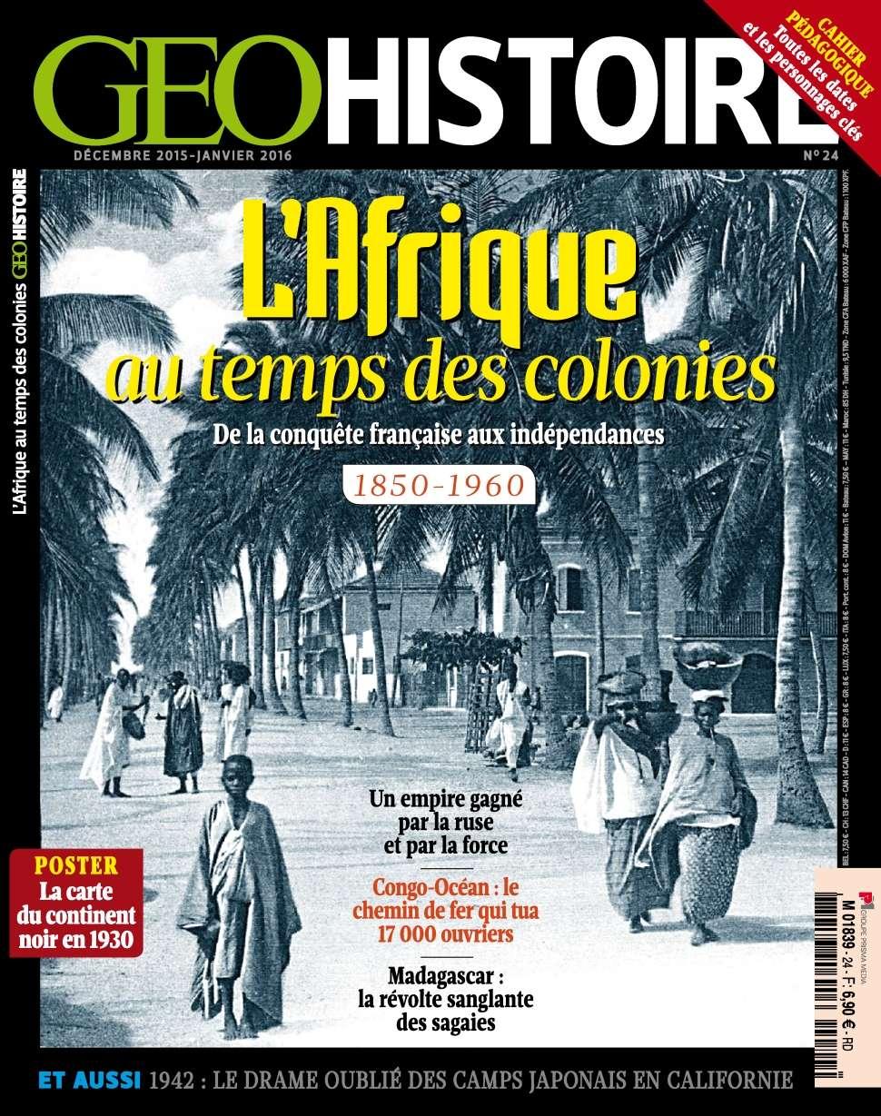 Geo Histoire 24 - Décembre 2015 - Janvier 2016