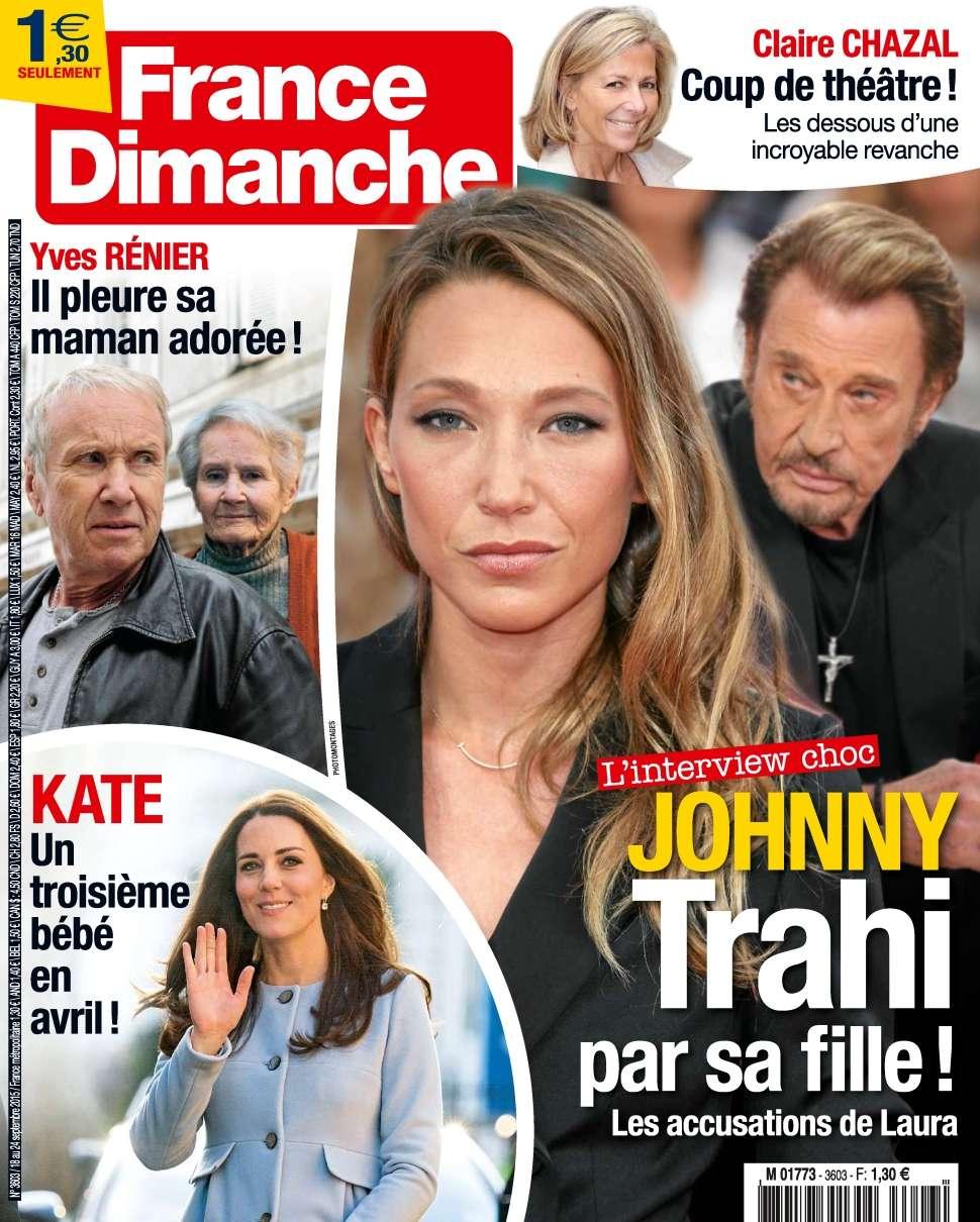 France Dimanche 3603 - 18 au 24 Septembre 2015