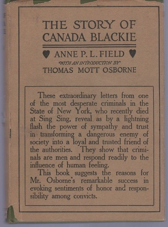 The story of Canada Blackie,, Anne P. L. Field