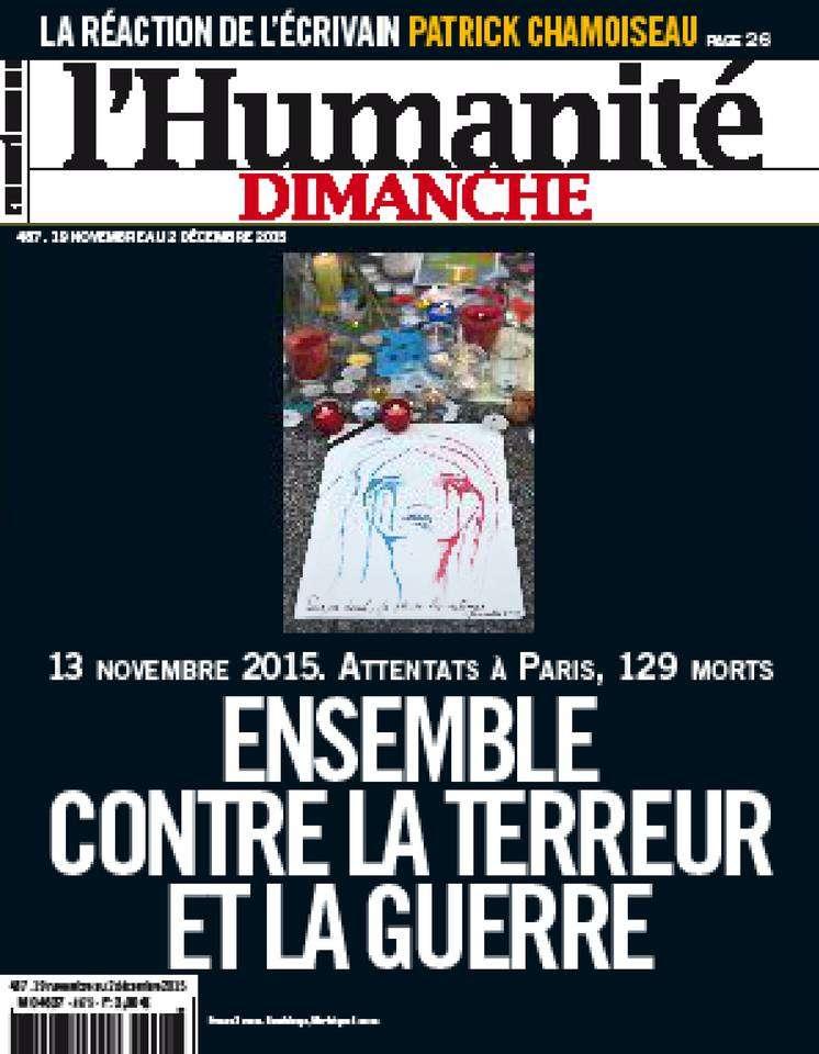 L'Humanite Dimanche - 19 Novembre au 2 Décembre 2015