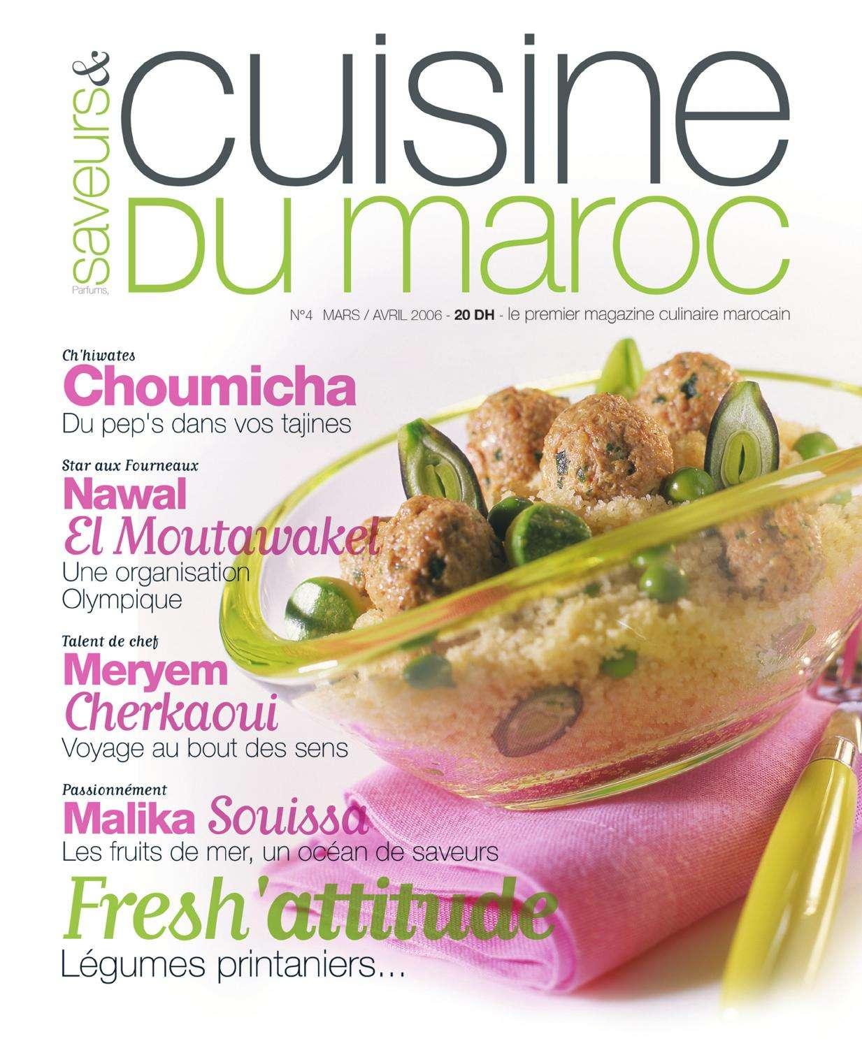 Saveur & Cuisine du maroc 4