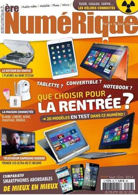 Ère Numérique 59 - Septembre/Octobre 2014