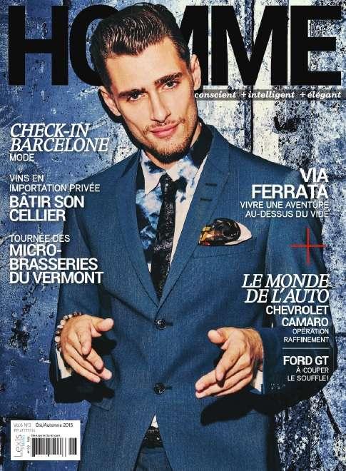 Homme Magazine - Été-Automne 2015