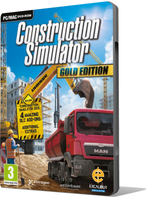 [PC] Construction Simulator Gold Edition: Liebherr A 918 (2017) - SUB ITA