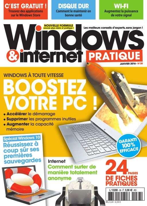 Windows & Internet Pratique 38 - Janvier 2016