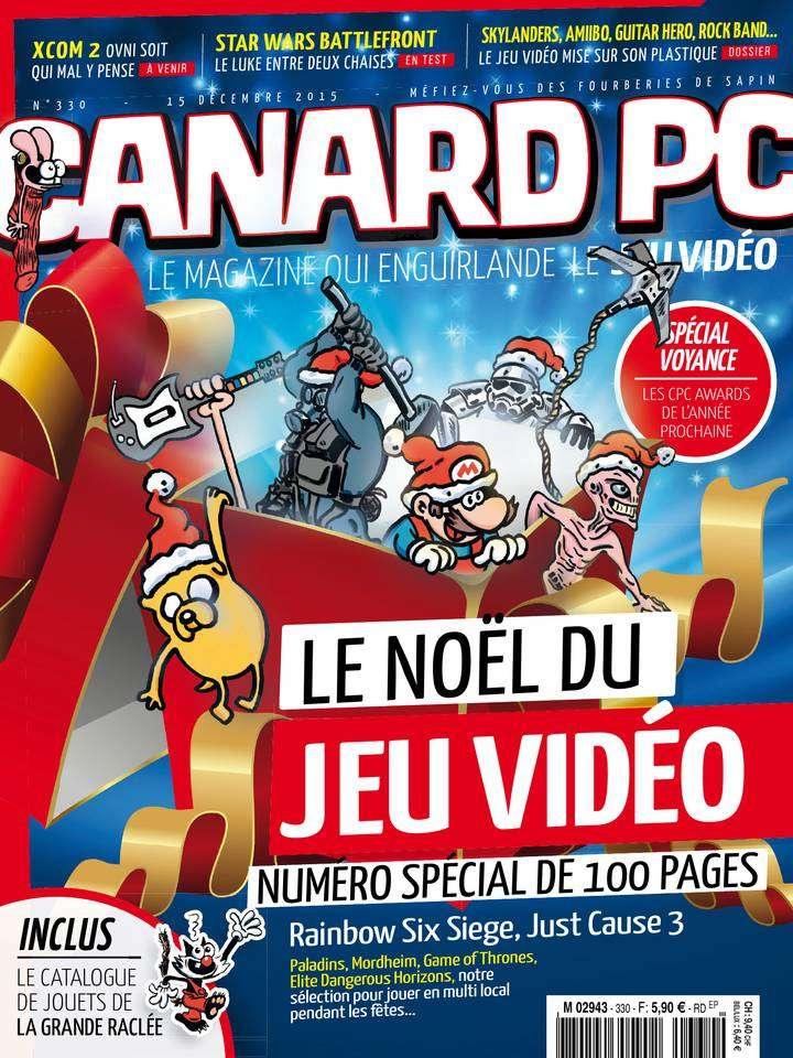 Canard PC 330 - 15 Décembre 2015