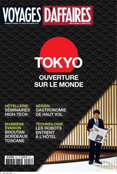 Voyages d'Affaires – Septembre-Novembre 2015
