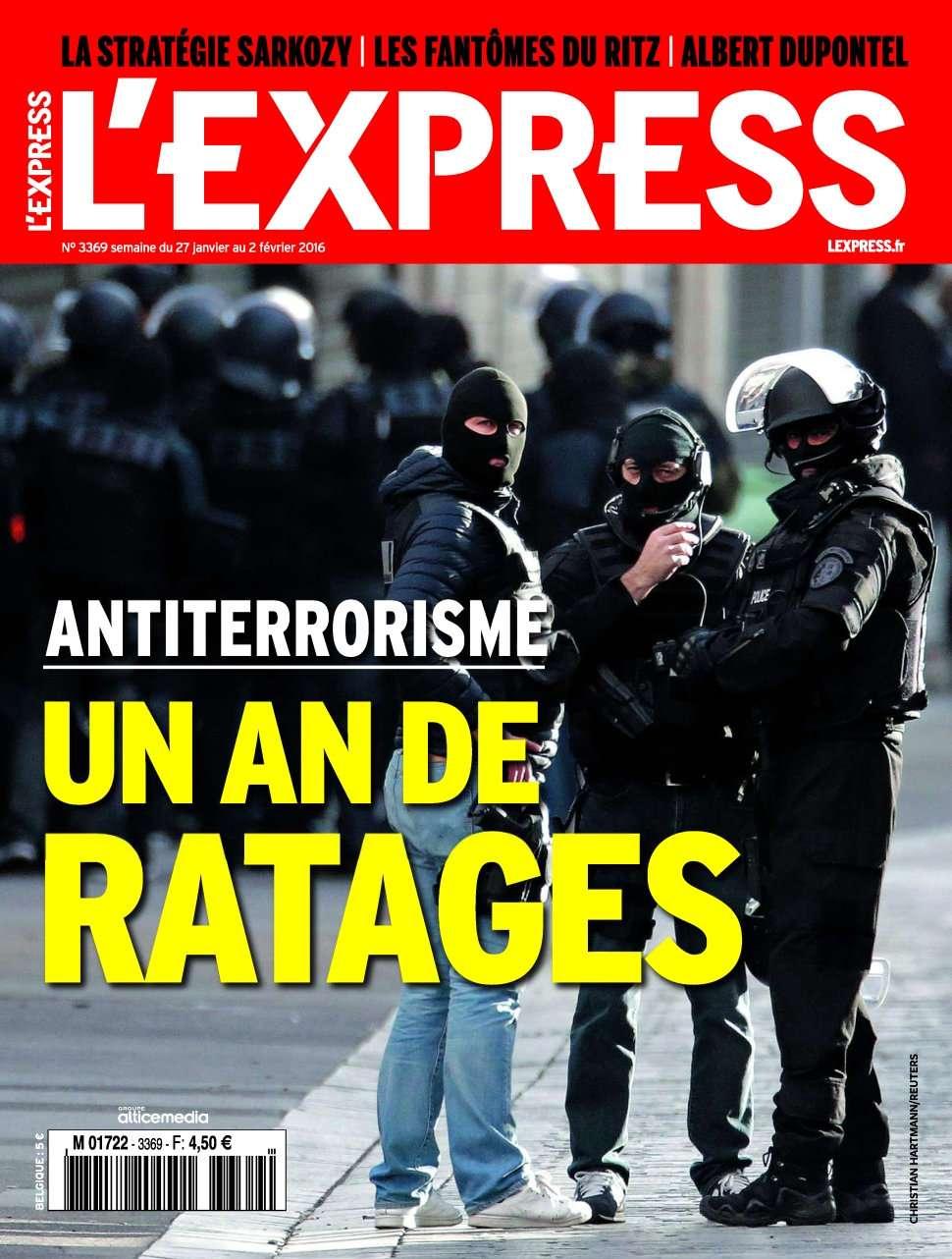 L'Express 3369 - 27 Janvier au 02 Février 2016