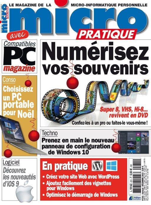 Micro Pratique 231 - Décembre 2015