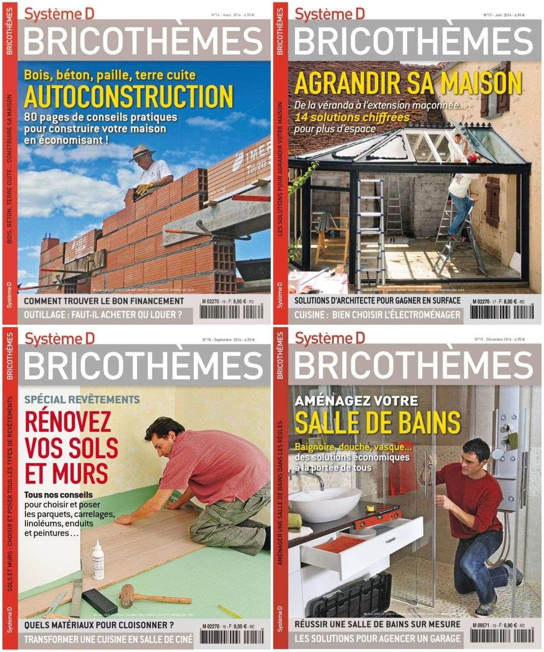 Système D Bricothèmes - Collection Annuelle 2014
