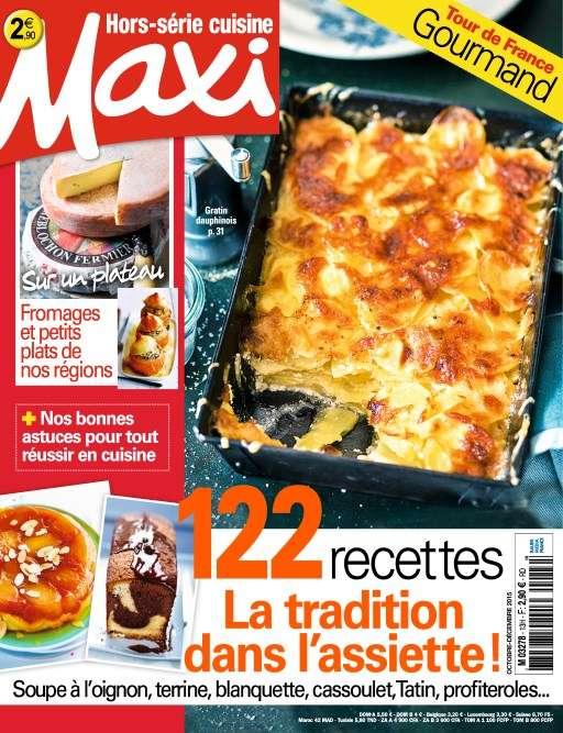 Maxi Hors Série Cuisine 26 - Octobre-Decembre 2015