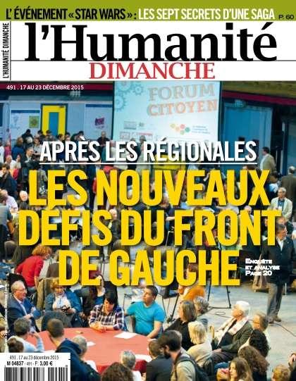 L'Humanité Dimanche 491 - 17 au 23 Décembre 2015