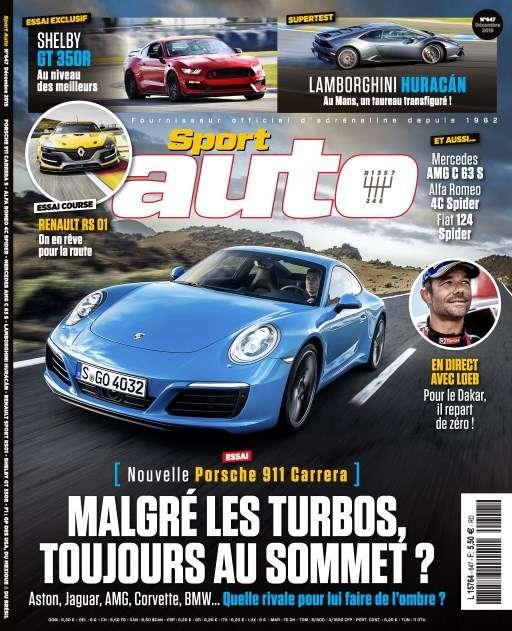 Sport Auto 647 - Décembre 2015
