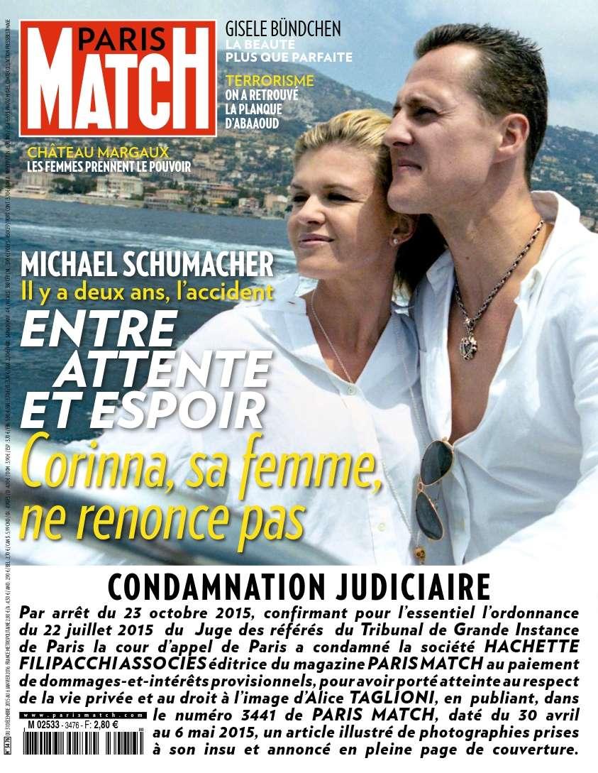 Paris Match 3476 - 31 Décembre au 6 Janvier 2016