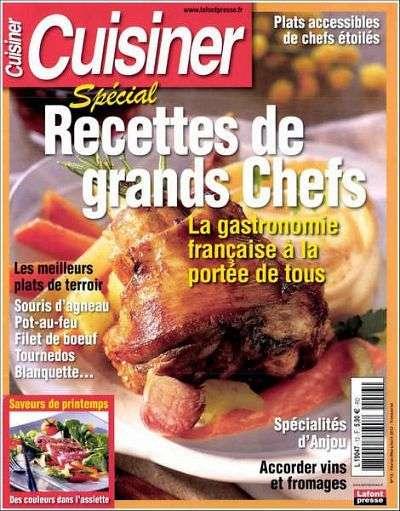 Cuisiner 13 Fevrier-Mars-Avril 2013