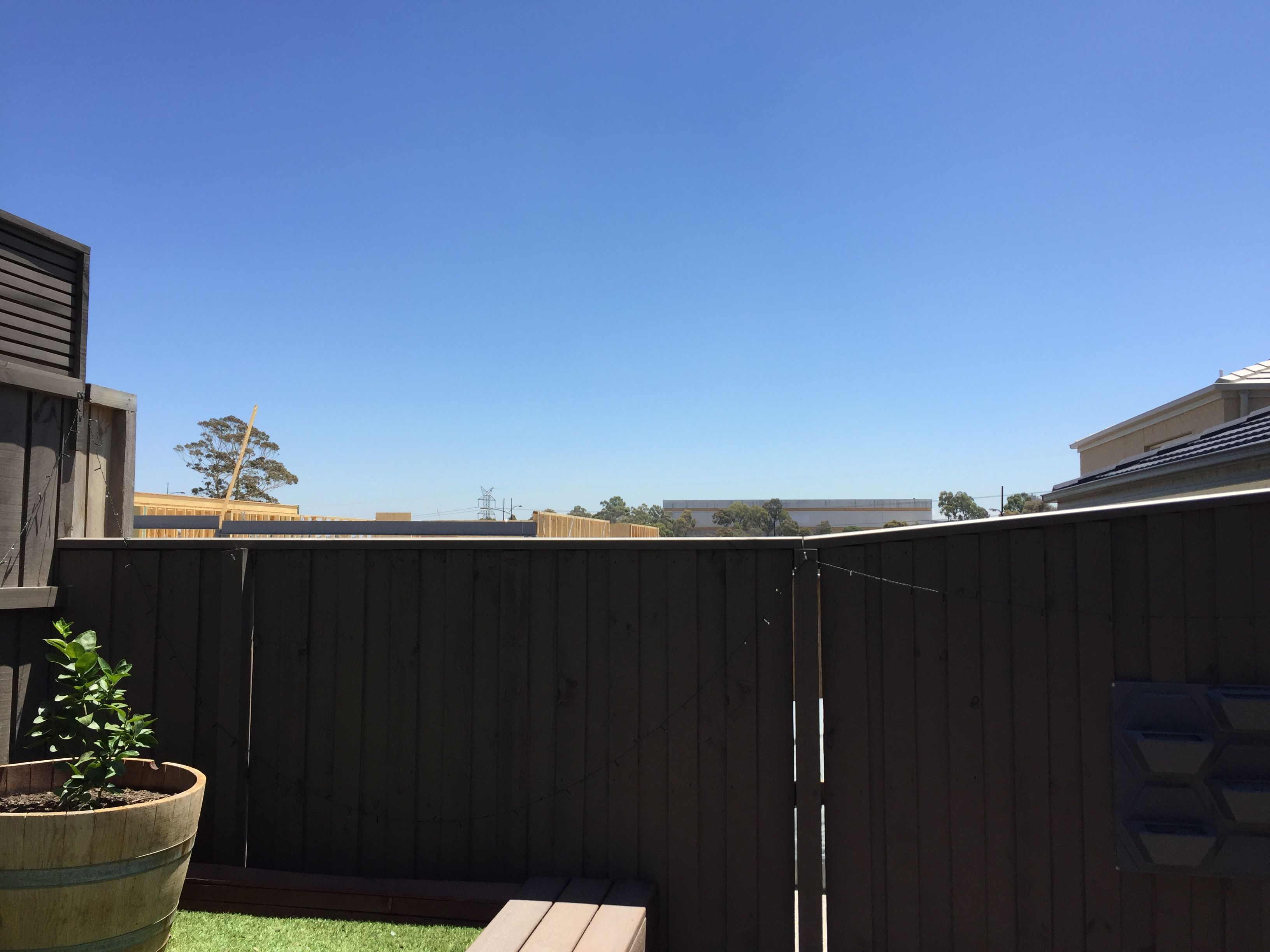 How to extend an angled fence?