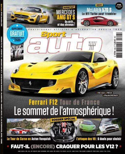 Sport Auto 646 - Novembre 2015