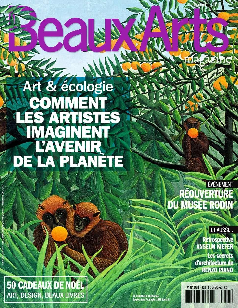 Beaux Arts magazine 378 - Décembre 2015