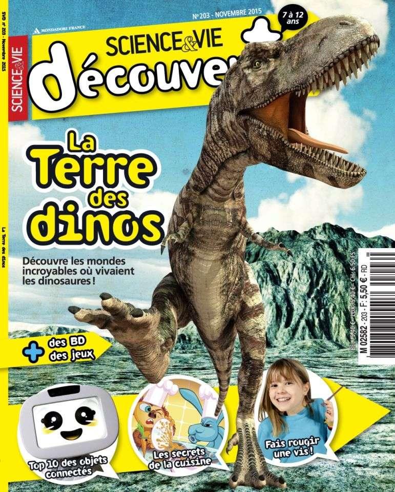 Science & Vie Découvertes 203 - Novembre 2015